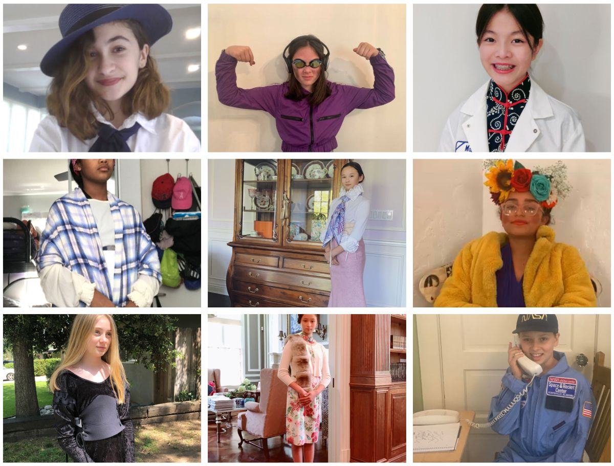 6th Graders Bring History to Life Online with World Women of Character and Courage Wax Museum