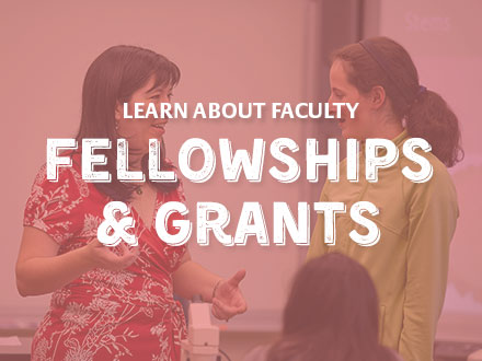 Learn about faculty fellowships and grants