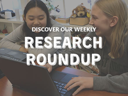 Discover our Weekly Research Round-up