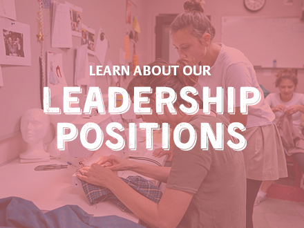 Learn about our leadership positions