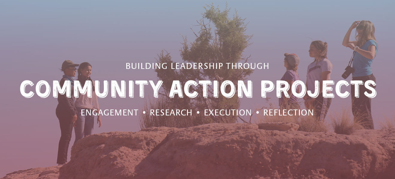 Building leadership through Community Action Projects