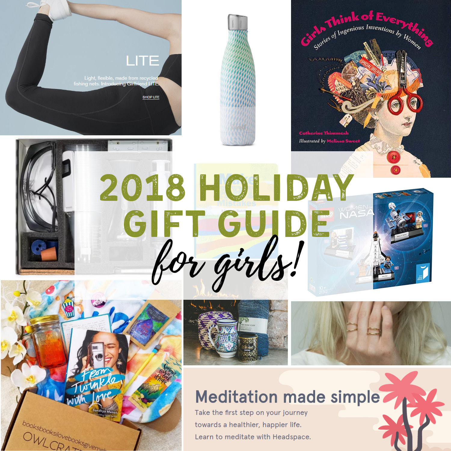2018 Holiday Gift Guide for Girls